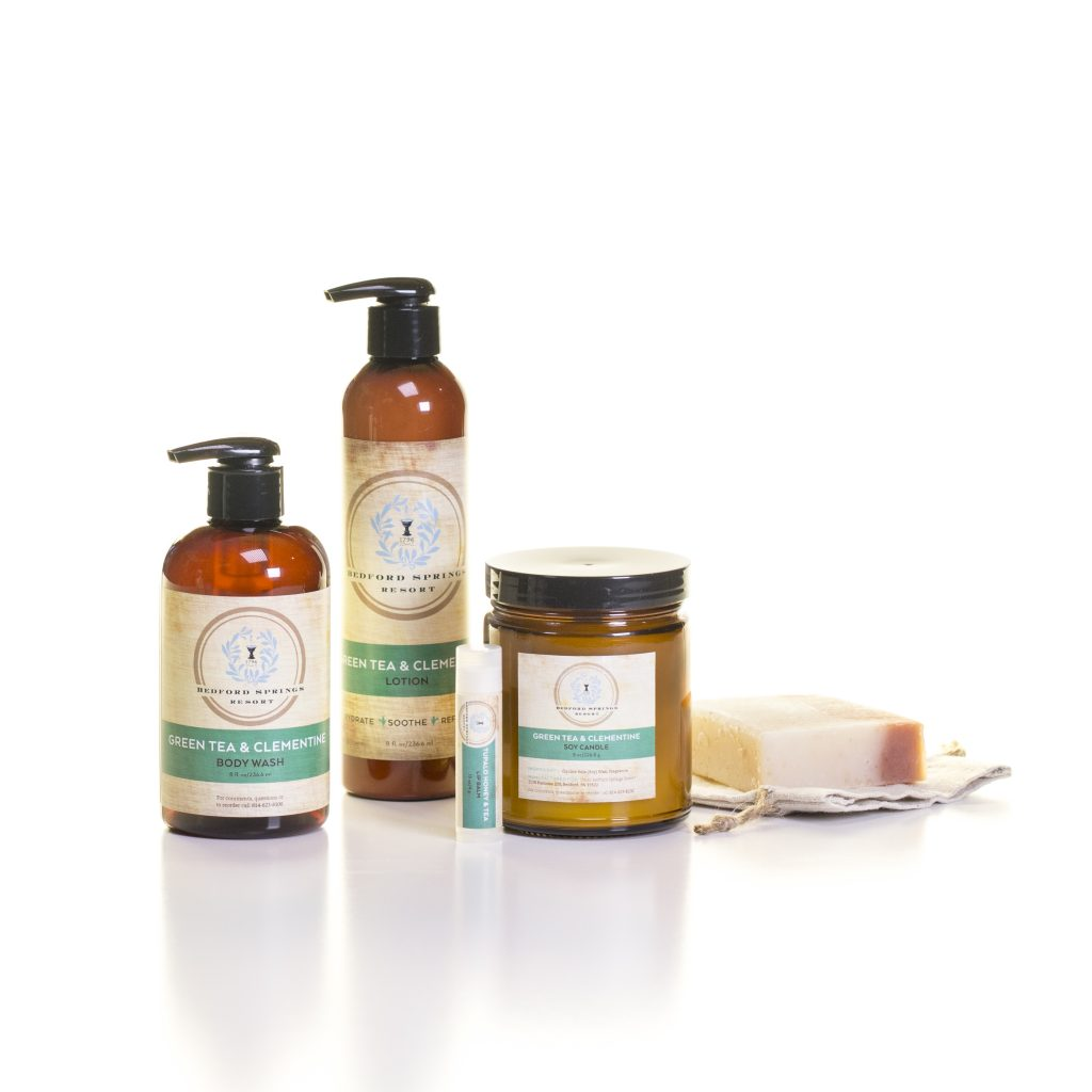 Omni Bedford Springs Resort - Makes Scents Natural Spa Line