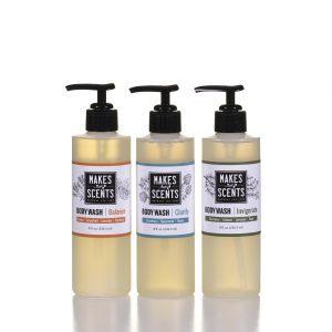 Balance - Clarify - Invigorate Body Wash- Vegan - Cruelty-Free - Sulfate-Free - Makes Scents Natural Spa Line