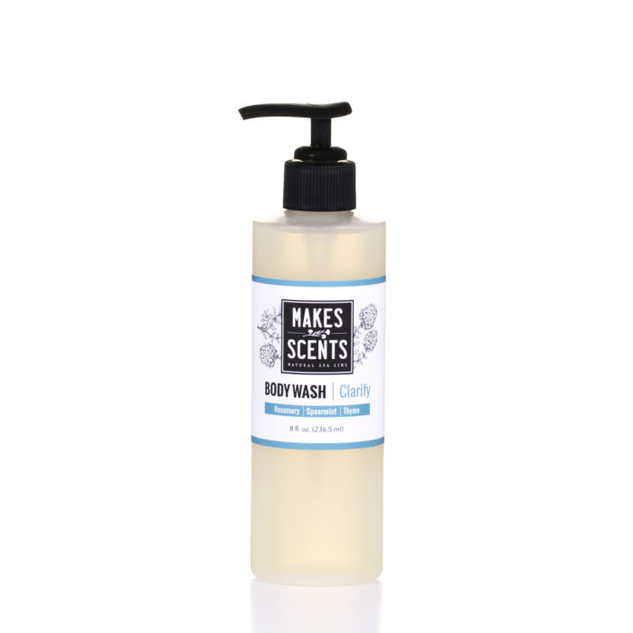 Clarify Body Wash - Vegan - Cruelty-Free - Sulfate-Free - Makes Scents Natural Spa Line