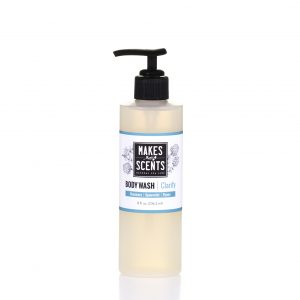 Clarify Body Wash- Vegan - Cruelty-Free - Paraben-Free - Sulfate-Free- Makes Scents Natural Spa Line
