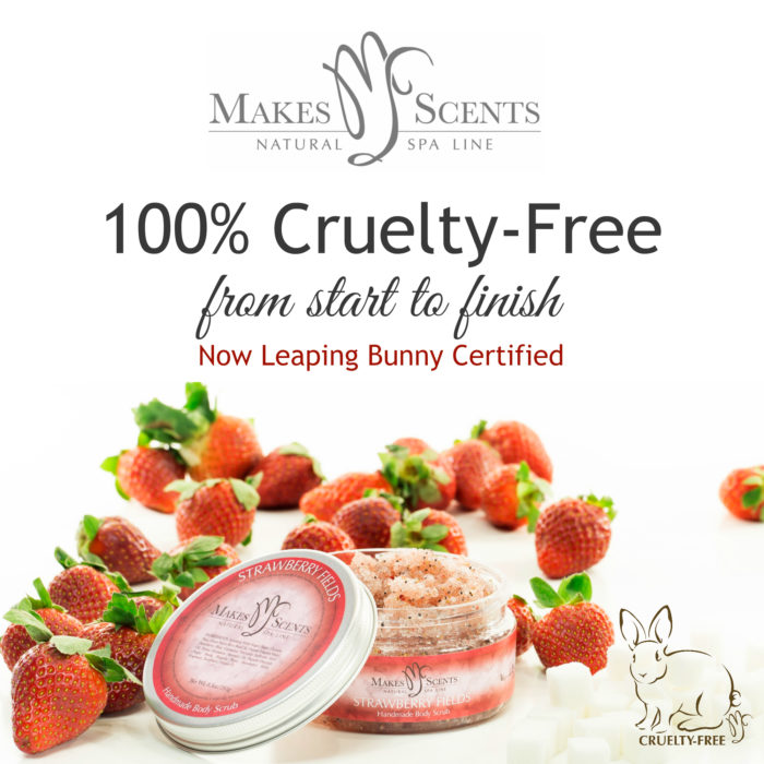 Leaping Bunny Certified - Makes Scents Natural Spa Line