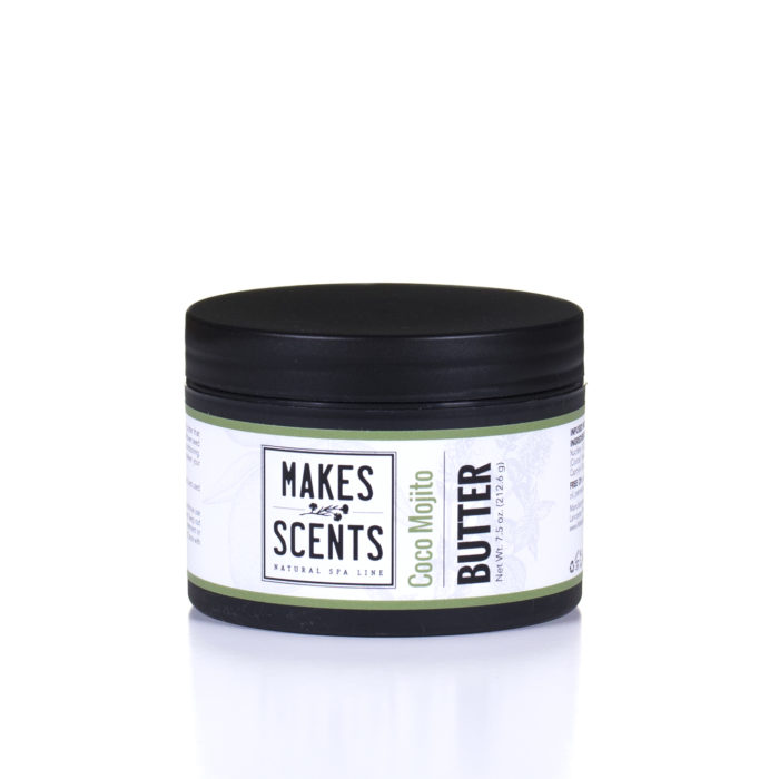 Coco Mojito Body Butter - Vegan - Natural - Cruelty-Free - Makes Scents Natural Spa Line
