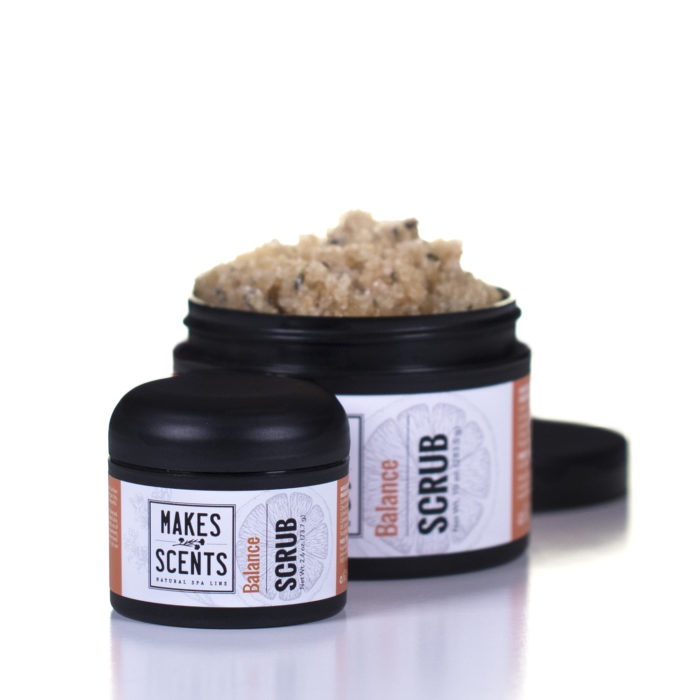 Balance Body Scrub - Vegan - Natural - Cruelty-Free - Makes Scents Natural Spa Line