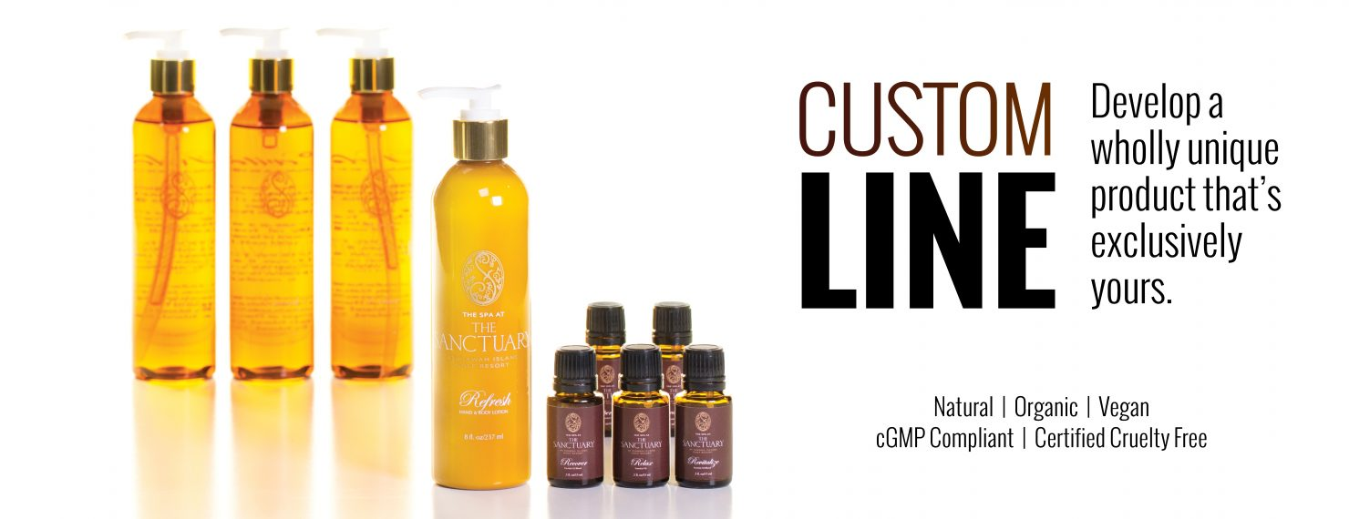 Custom Formulation - Private Label - Spa Products - Makes Scents Natural Spa Line