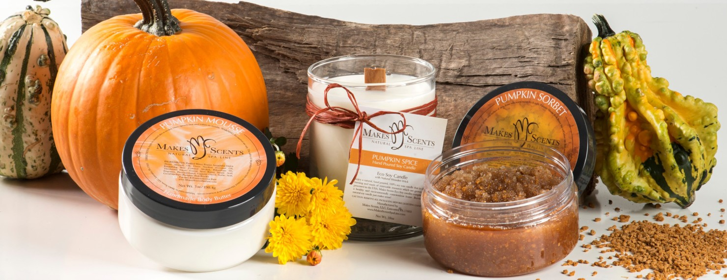 Fall Pumpkin Collection - Makes Scents Natural Spa Line 3