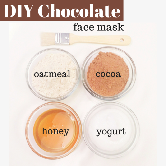 DIY Chocolate Face Mask - Makes Scents Natural Spa Line