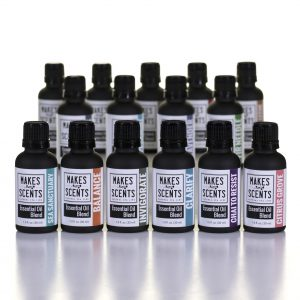 Professional Essential Oils - Makes Scents Natural Spa Line