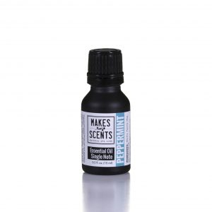 Peppermint Essential Oil - Vegan - Cruelty-Free - Makes Scents Natural Spa Line