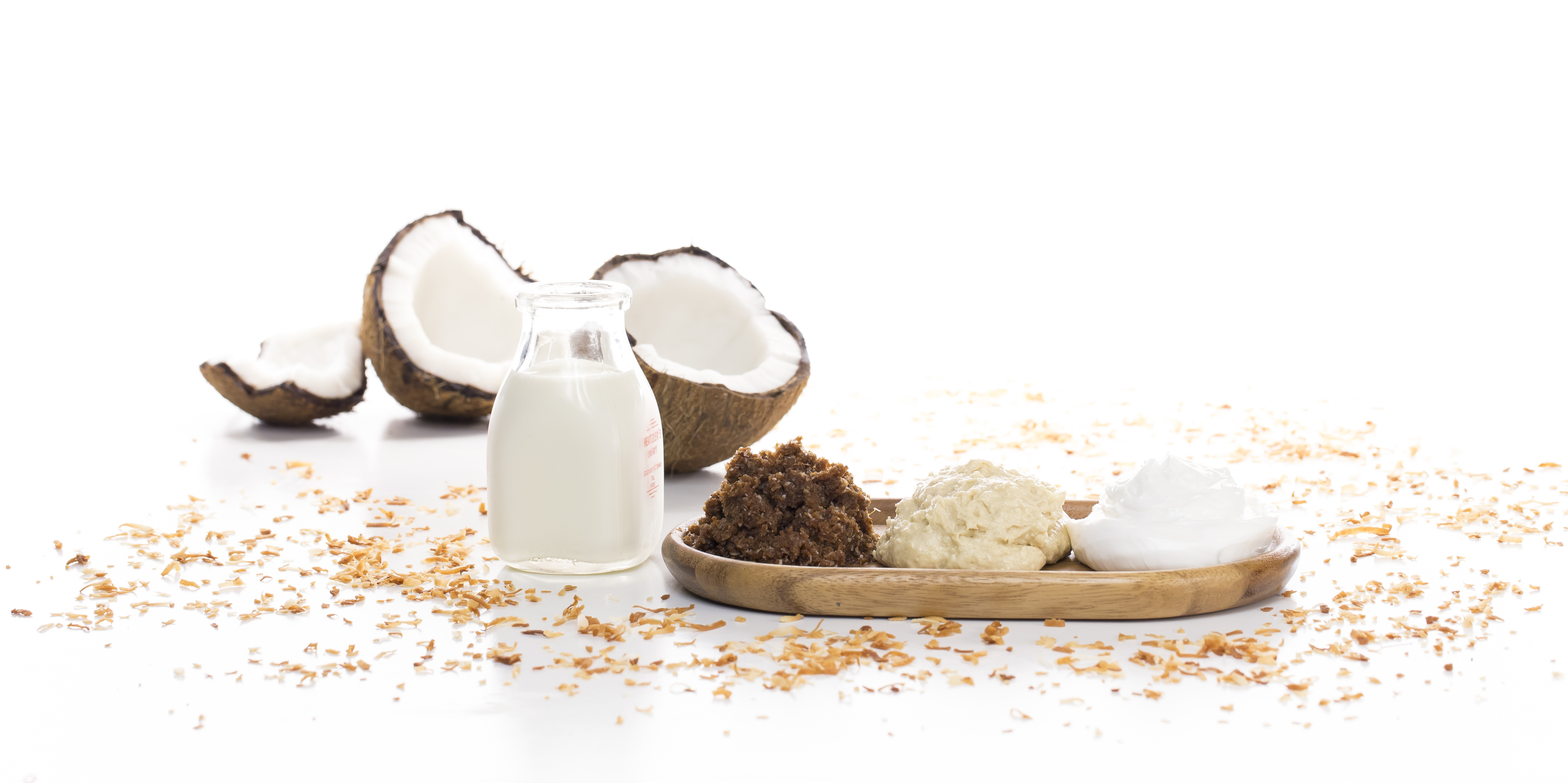 Raw Coconut & Crème Body Immersion - Makes Scents Natural Spa Line