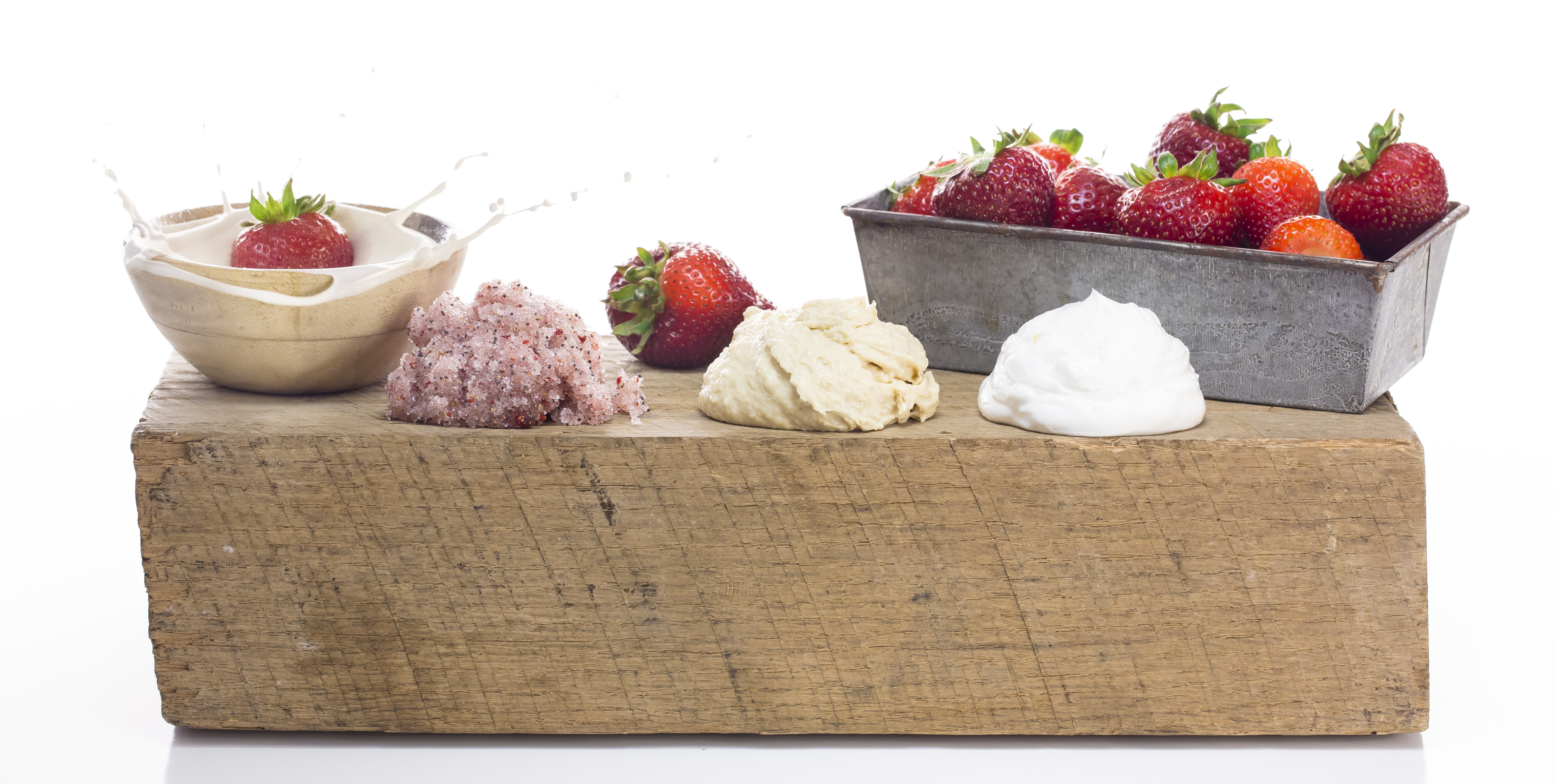 Strawberries & Cream Body Immersion - Makes Scents Natural Spa Line