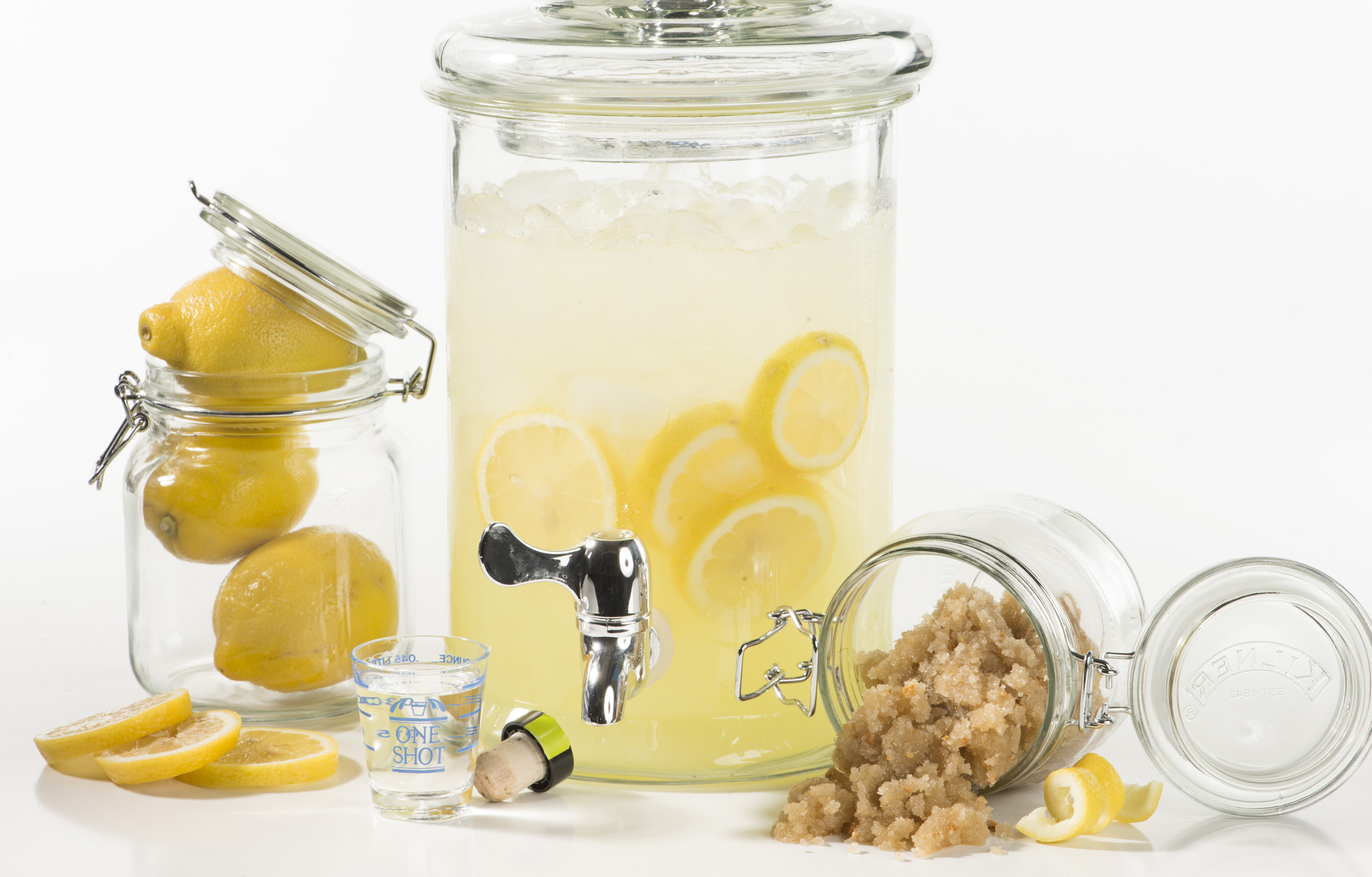 Spiked Lemonade Body Immersion - Makes Scents Natural Spa Line