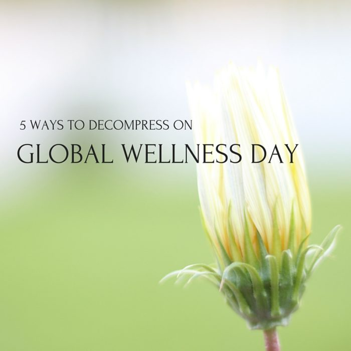 Global Wellness Day 2016 - Makes Scents Natural Spa Line