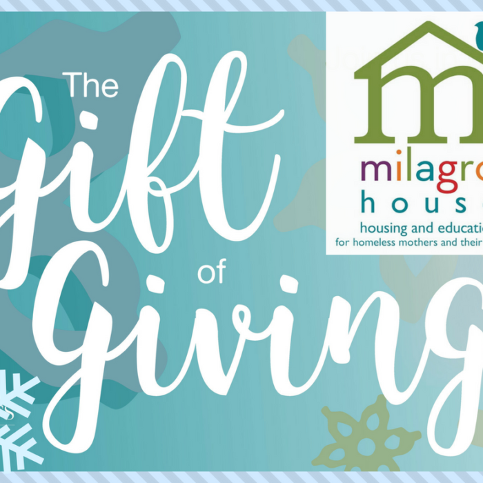 Gift of Giving - Milagro House - Makes Scents Natural Spa Line