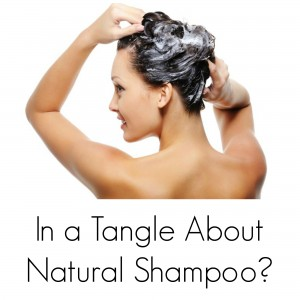 In a Tangle About Natural Shampoo?