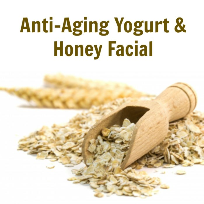 Anti-Aging Yogurt & Honey Facial