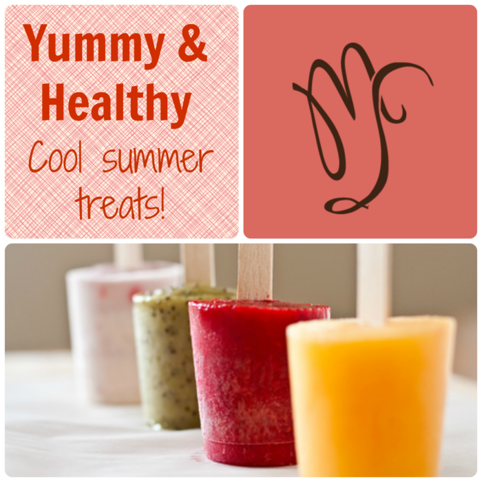 Yummy & Healthy Cool Summer Treats