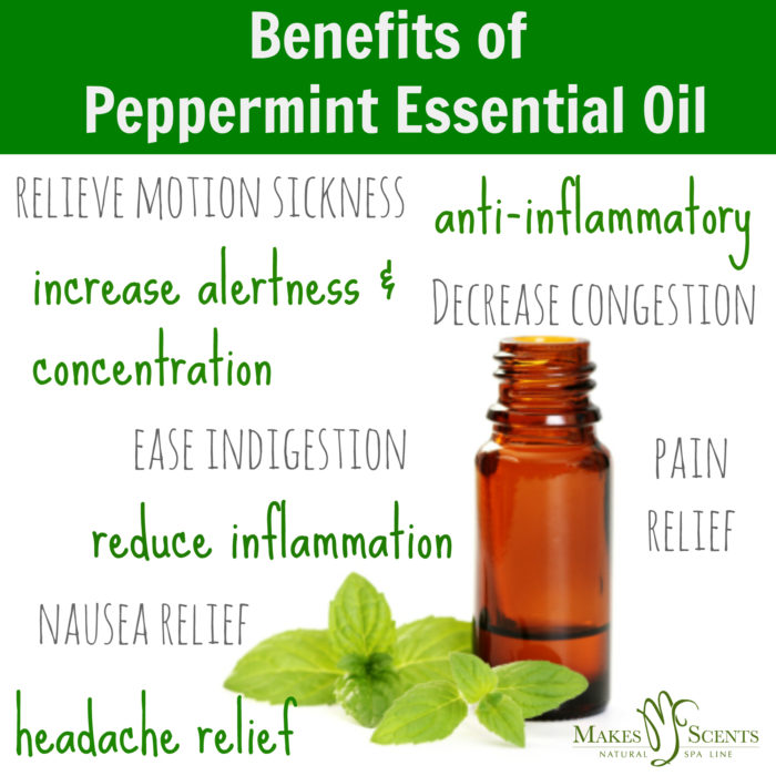Feel the Scent-sation: 3 Benefits of Peppermint Essential Oil