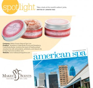 American Spa Magazine June 2015