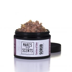 Garden of Eden Body Scrub - Vegan - Cruelty-Free - Makes Scents Natural Spa Line
