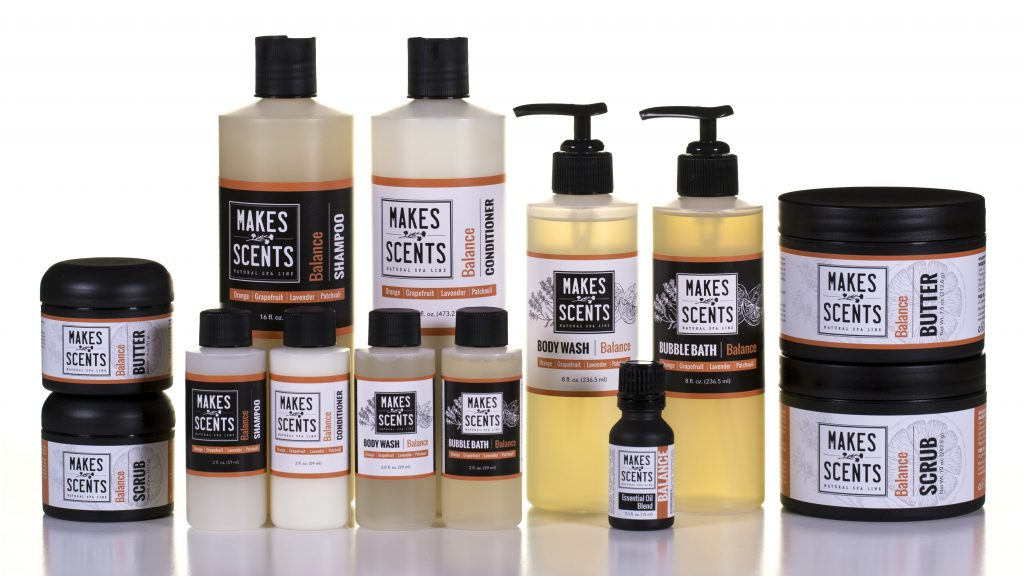 Balance Body & Hair Line - Makes Scents Natural Spa Line