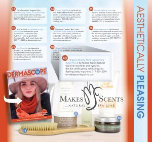 DERMASCOPE Magazine - February 2017 - Makes Scents Natural Spa Line