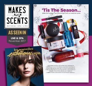 LNE & Spa Magazine - November 2017 - Makes Scents Natural Spa Line