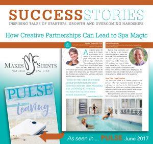Omni Bedford Springs Resort - Springs Eternal Spa - Pulse Magazine June 2017 - International Spa Association - Makes Scents Natural Spa Line