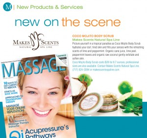Massage Magazine June 2015