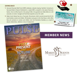 PULSE Magazine January 2016 - Makes Scents Natural Spa Line