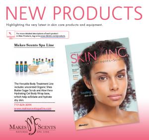 Skin Inc Magazine November 2015 - Makes Scents Natural Spa Line