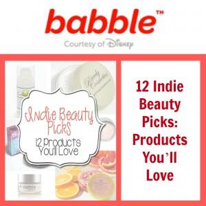 Babble Disney Makes Scents Natural Spa Line