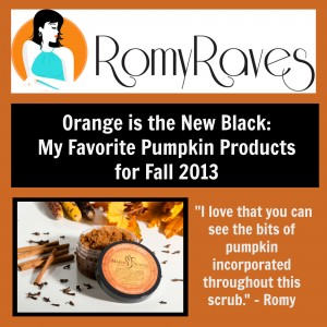 Romy Raves Makes Scents Natural Spa Line