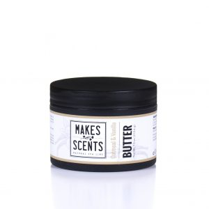 Oatmeal & Vanilla Body Butter - Vegan Cruelty-Free- Makes Scents Natural Spa Line
