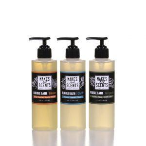 Balance, Clarify, Invigorate Bubble Bath - Vegan - Cruelty-Free - Sulfate-Free - Makes Scents Natural Spa Line