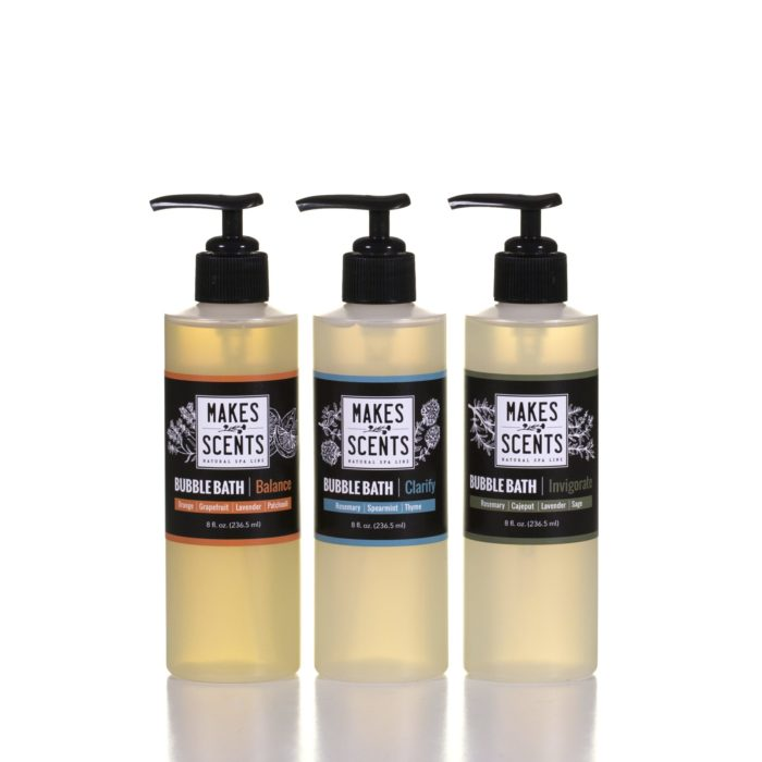 Balance, Clarify, Invigorate Bubble Bath - Vegan - Cruelty-Free - Sulfate-Free - Makes Scents Natural Spa Line