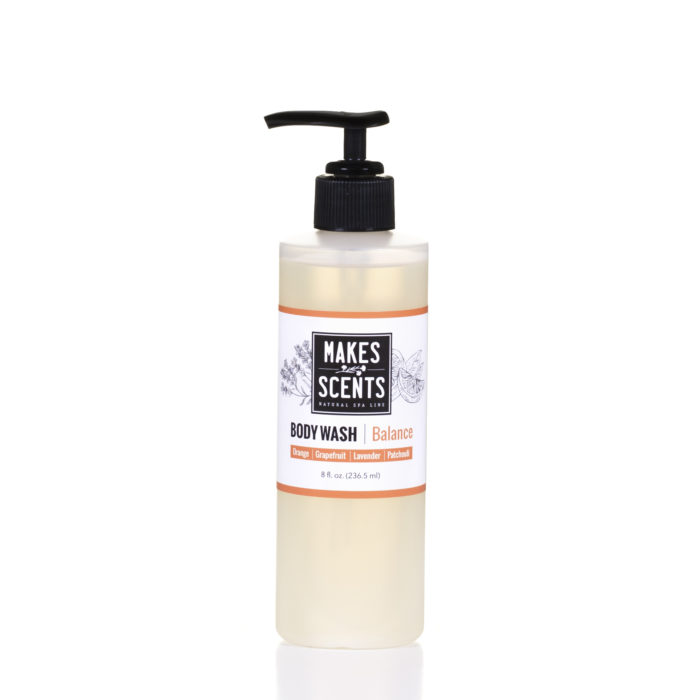 Balance Body Wash - Vegan - Cruelty-Free - Sulfate-Free - Makes Scents Natural Spa Line