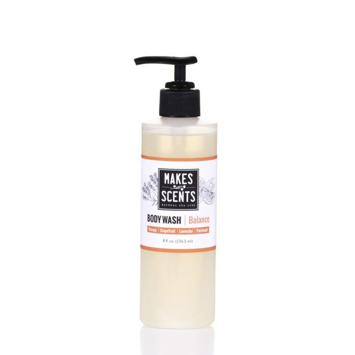 Balance Body Wash - Vegan - Cruelty-Free - Sulfate-Free - Makes Scents Natural Spa Line