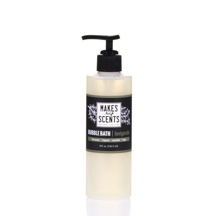 Invigorate Bubble Bath - Vegan - Cruelty-Free - Sulfate-Free - Makes Scents Natural Spa Line