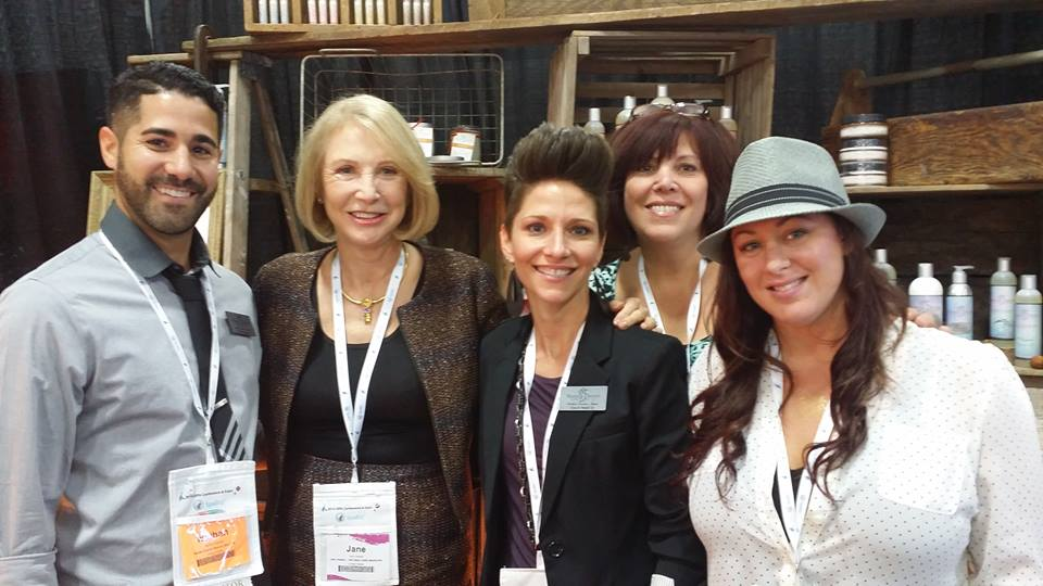 Jane Iredale - Makes Scents Natural Spa Line Team ISPA 2014