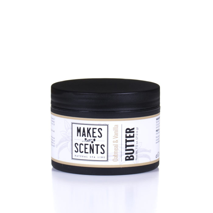 Oatmeal & Vanilla Body Butter - Vegan - Natural - Cruelty-Free - Makes Scents Natural Spa Line