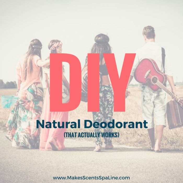 DIY Natural Deodorant - Makes Scents Natural Spa Line