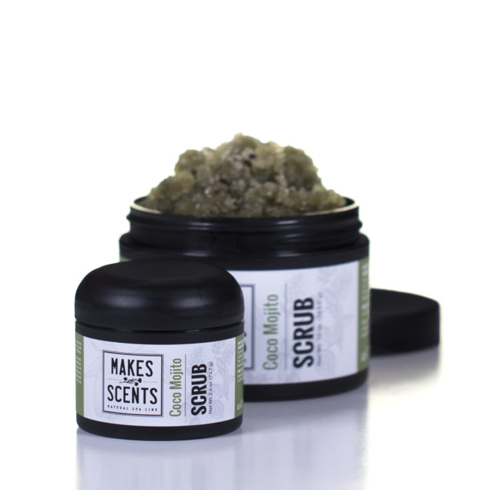 Coco Mojito Body Scrub - Vegan - Natural - Cruelty-Free - Makes Scents Natural Spa Line