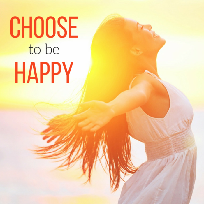 Choose to be Happy - Makes Scents Natural Spa Line
