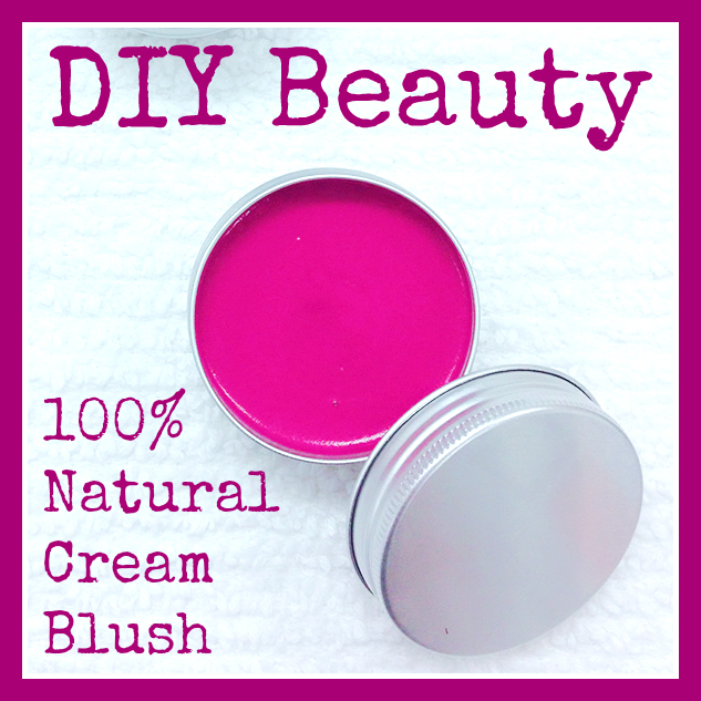 DIY Cream Blush - Makes Scents Natural Spa Line
