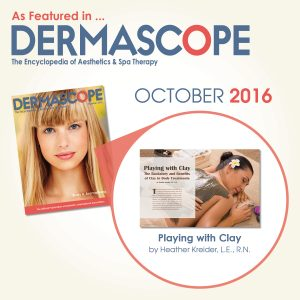 Makes Scents Natural Spa Line - DERMASCOPE Magazine October 2016 Feature