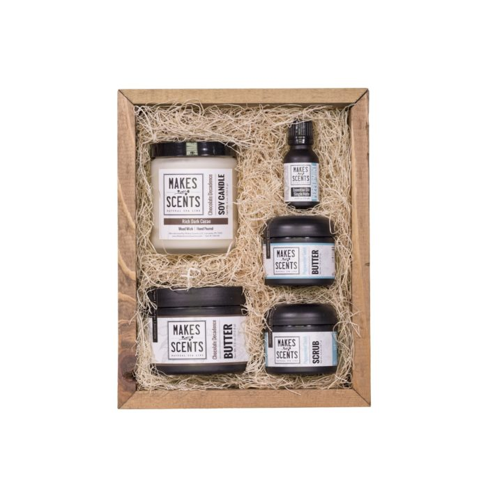 Mint Chocolate Deluxe Spa Collection - Makes Scents Natural Spa Line