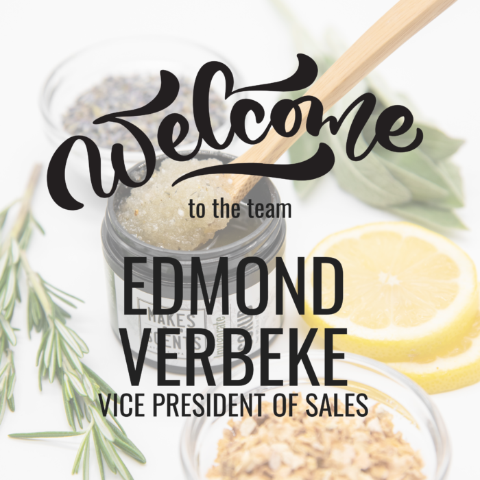 Edmond Verebeke NEW VP of Sales Makes Scents Natural Spa Line